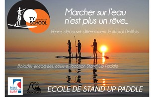 Ecole de Stand Up Paddleboard : Ty School - Locmaria