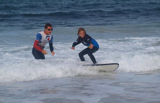 Ecole de Surf : Belle Ile Surf Club 6 - Sauzon